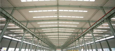 Lighting System for Steel Structure